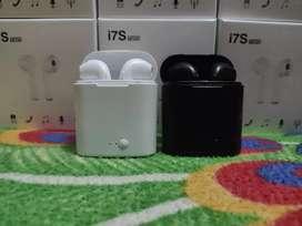 Audífonos inalambricos i7s TWS Bluetooth 5.0