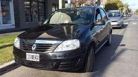 Renault Logan pack ll autentique plus ABS aire dirección cierre  lev vidrios alarma GNC 5ta G  permutas menor valor