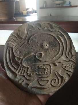 Pieza Indígena de Guaca Sello Espectacul