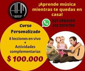 TECLADO, CANTO, GUITARRA, UKELELE, INICIACION MUSICAL