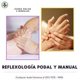 Curso Online de Reflexología Podal y Manual en Centro Médico Escuela
