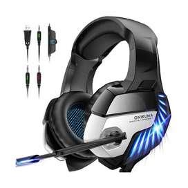 Auriculares Onikuma K5 Pro Gaming-micrófono Cable Usb Origin