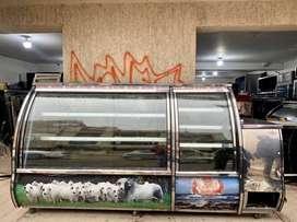 Nevera industrial, para carne, pollo y cerdo con punto de pago