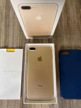 iPhone 7 Plus Gold 32 Gb con todo