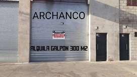 Se Alquila Excente Galpón En Lomas Del Mirador 300 M2