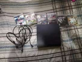 Vendo o cambio play station 3 con juegos y cables respectivos