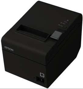 Impresora Termica Epson Tm-t20, Usb Serial, Negro