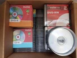 DVDR IMATION 0.25 centavos