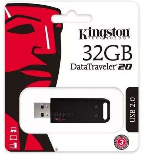 PEN DRIVE 32GB KINGSTON DT20 0