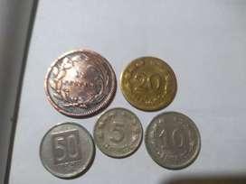Monedas de Colección Antiguas