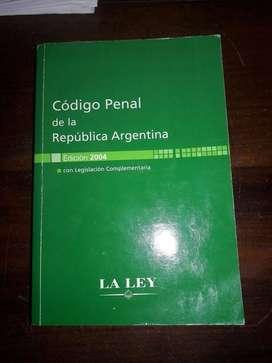 Código penal de la República Argentina. En buen estado!!