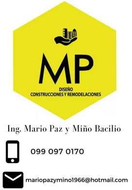 DISEÑO - CONSTRUCCIONES - REMODELACIONES - MANTENIMIENTOS GENERALES
