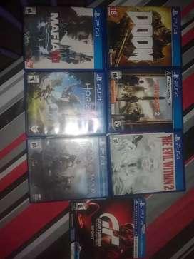 Juegos PS4. Canjeo