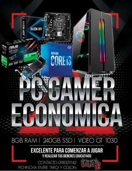 Pc Gamer Economica con tarjeta de video