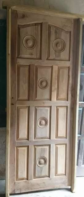 Vendo puertas de algarrobo
