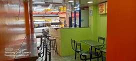 Local de comidas rápidas