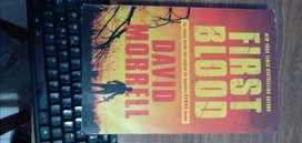 FIRST BLOOD de David Morrell, 308 paginas