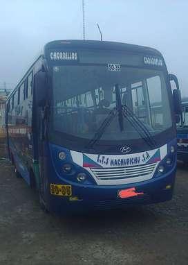 Vendo bus hyundai county3 euro3 año 2012