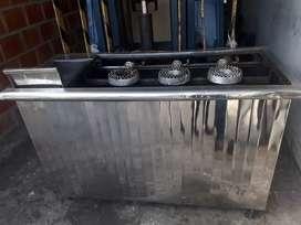 Vendo estufa industrial de tres