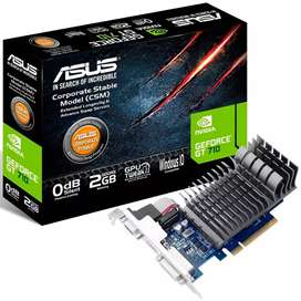 Placa Vídeo GT 710 2GB DDR5 Asus