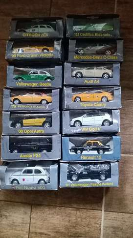 Vendo colección autos clasicoz