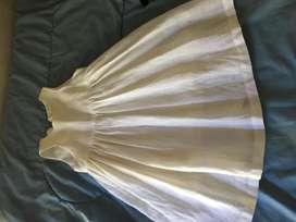 Vestido de bautismo T1 marca Cardon Liquido!