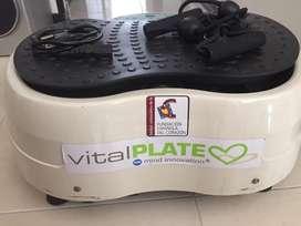 Vendo plataforma vibratoria Vital Plate