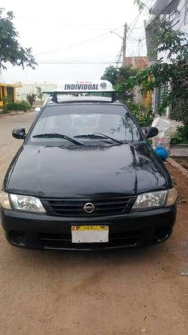 Se Vende Taxi Individual Nissan Sunny 2003 Listo para Trabajar