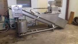 Mozarellera Equitec 1500 kgs hora