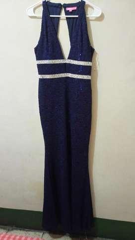 Vestido Azul Talla L