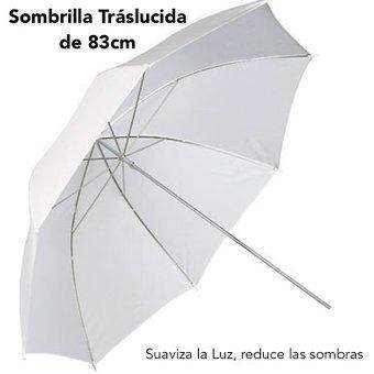 Sombrilla traslucida de tripode o parante 0