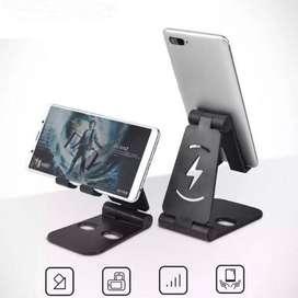 Soporte porta celular o tablet (pegable de escritorio)