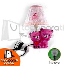 Lamparas Decorativas Para Niños Y Niñas (Osos Rosados)