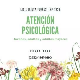 Atención Psicológica individual