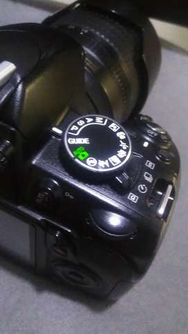 Nikon D3100 con lente 18-105 Nikon