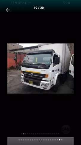 Dongfeng camion litera 2017 $19800 mecanic motor cunmins carga util 7.5 ton.