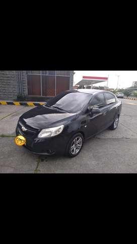 Chevrolet sail ls -negro