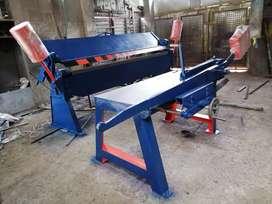 Fabricación de dobladoras y cortadoras manuales para lámina.