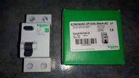 Disyuntor diferencial Schneider easy9 2p 63a 30ma
