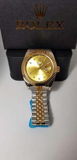 Reloj Rolex caballero, doble fechero