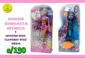 BARBIE + MONSTER HIGH MATTEL PROMO FIESTAS PATRIAS