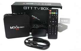 .TV BOX 2 RAM X 16 GIGAS MXQ PRO 5G.