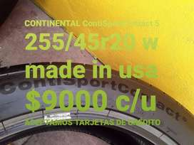 Neumaticos continental ContiSportContact5 255/45r20