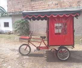 Triciclo de ventas