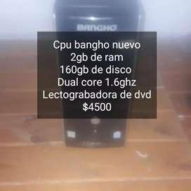 Cpu bangho nuevo