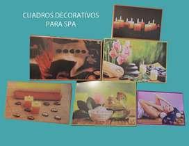 Cuadros Decorativos para Spa Y Estetica
