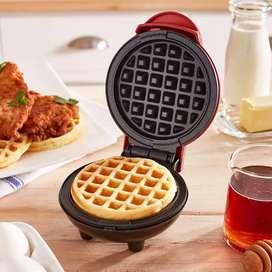 Waflera Mini Personal Eléctrica Antiadherente Pancakes