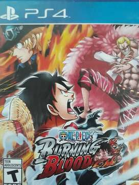 One Piece Burning Blood PS4 - $ 20