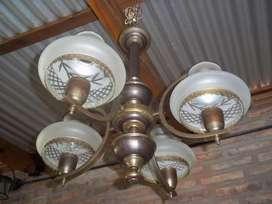 Lámpara de Techo Cuatro Luces