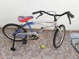 Bicicleta en Buen Estado Rosado 20